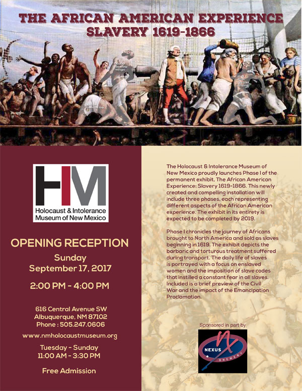 Opening Reception: The African American Experience