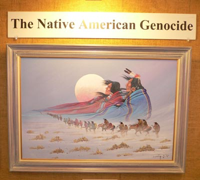Native American Genocide painting